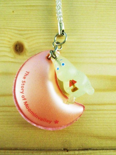 【震撼精品百貨】慕敏嚕嚕米家族_Moomin Valley~手機吊飾-月亮