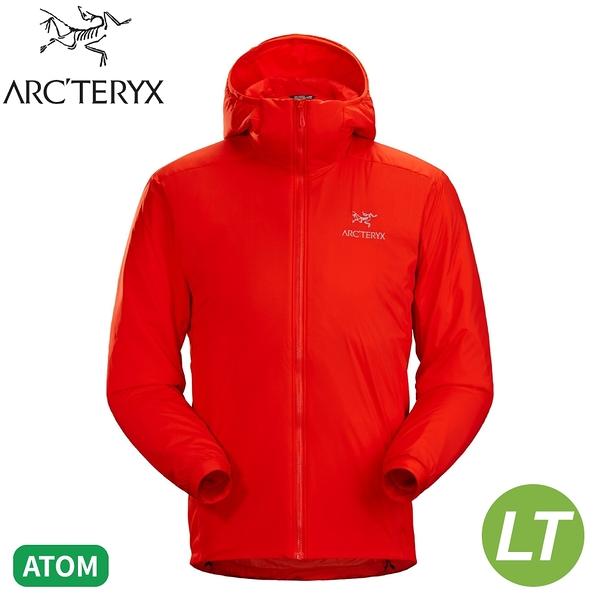 【ARC'TERYX 始祖鳥 男 Atom LT 化纖連帽外套《時代橘》】24108/防潑水/輕薄夾克/防風/可壓縮