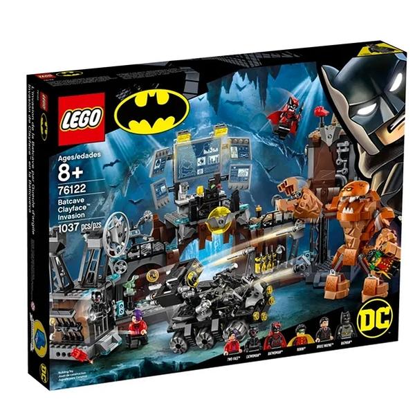 LEGO 樂高 DC系列 Batcave Clayface™ Invasion 76122