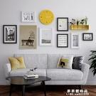 實木相框餐廳臥室照片牆客廳沙發背景裝飾牆相框掛牆組合創意歐式 果果輕時尚NMS
