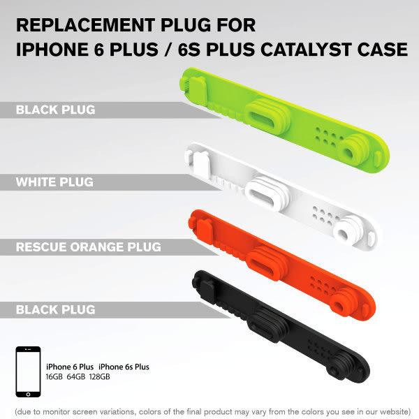 現貨+預購 CATALYST IPHONE 6S PLUS  4.7吋 5.5吋 防水手機殼 防水保護殼 專用 底部防水塞 替換用 防水孔塞