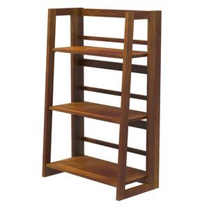 小折三層實木書架