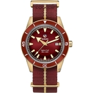 RADO雷達錶 庫克船長青銅自動機械腕錶 R32504407
