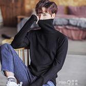 高領毛衣男士秋冬季新款韓版寬鬆厚款打底長袖線衣針織衫上衣潮流 (pinkq 時尚女裝)