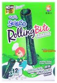 【吉嘉食品】SELECO香脆烤海苔卷/海苔捲(原味(微辣)) 1盒12條入88元,全素[#1]{8852116805220}