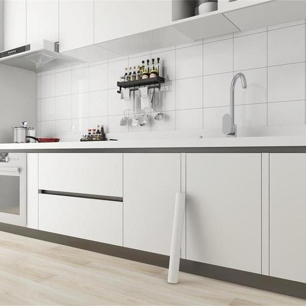 櫥柜貼紙柜門自粘廚房加厚油水烤漆家具翻新衣柜貼膜桌面改色