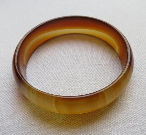 天然瑪瑙手鐲#0790  57.5mm