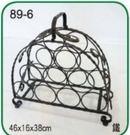 【南洋風休閒傢俱】緞鐵飾品系列-1111梯圓酒架(L89-6 #1111)