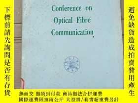 二手書博民逛書店1st罕見European conference on optical fibre communication(P