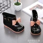 兒童雨鞋女童防滑雨靴寶寶水鞋兒童雨靴小孩四季膠鞋果凍防滑水靴【蘇荷精品女裝】