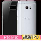 極薄隱形 HTC ONE 10 手機套 htc 10 保護套 超薄 TPU 透明 防水印 軟殼 耐磨耐刮 矽膠套│麥麥3C