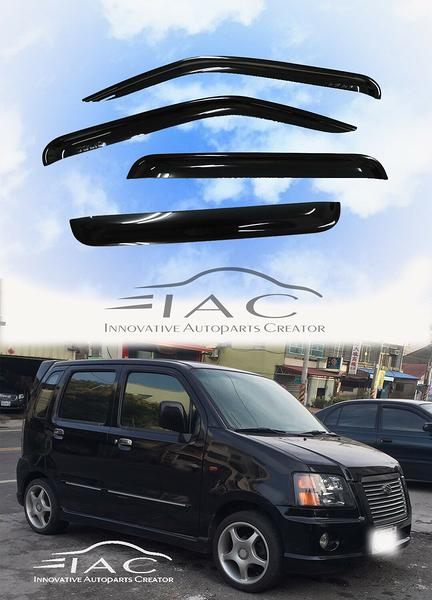 Suzuki Solio Wagon R 03-08 台製晴雨窗 【IAC車業】