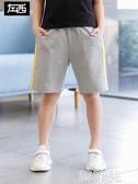男童短裤 左西男童短褲夏裝2020新款 兒童褲子休閒運動褲純棉中大童韓版潮 韓菲兒