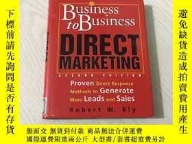 二手書博民逛書店business罕見to business direct marketingY20850 Robert W B