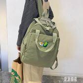 後背包學院風書包初中女高中韓版日系古著感大容量ins風背包雙肩包 LJ4405『東京潮流』