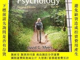 二手書博民逛書店Myers 罕見Psychology for AP Second editionY268220 David G