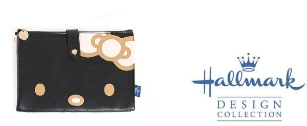 證件夾 護照夾 Hallmark KITTY 仿皮 黑色 127 奶爸商城 特價 特價 特價 恕不退換