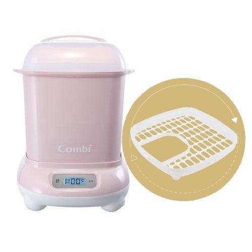 康貝Combi Pro 360高效消毒烘乾鍋-優雅粉[衛立兒生活館]