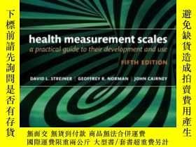 二手書博民逛書店Health罕見Measurement Scales: A Pr