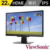 【台中平價鋪】全新 ViewSonic 優派 VX2263SMHL 22型IPS寬螢幕 電腦螢幕