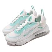 Nike 休閒鞋 Wmns Air Max 2090 白 綠 女鞋 氣墊 半透明鞋面設計 全新鞋款 運動鞋 【ACS】 CK2612-101