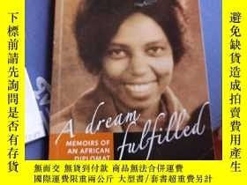 二手書博民逛書店THANDI罕見LUJABE RANKOE A dream fulfilled 簽名Y17249