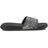 PUMA Popcat 20 Wns Untamed 女款灰色蛇紋休閒涼拖鞋-NO.37510801