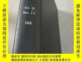 二手書博民逛書店chemical罕見processing Vol.28 Nos.