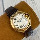 BRAND楓月 Cartier 卡地亞 W6900256 藍氣球 28MM QZ 手錶 配件