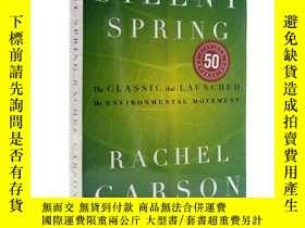 二手書博民逛書店Silent罕見Spring寂靜的春天 英文原版Y21066