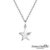 鑽石項鍊 PERKINS 伯金仕 Star系列 0.03克拉項墜