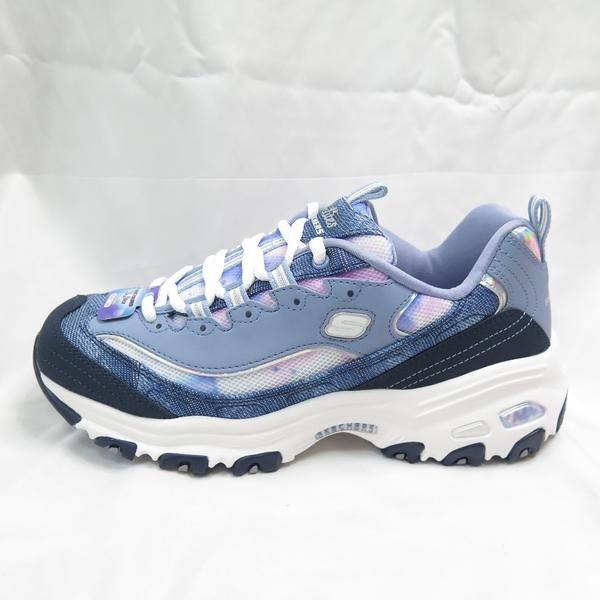 Skechers D LITES LUSCIOUS 老爹鞋 休閒鞋 女款 149251NVMT 藍【iSport愛運動】