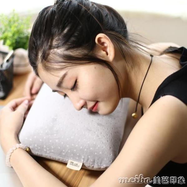 午休枕辦公室午睡枕學生趴睡枕抱枕成人午覺小枕頭兒童記憶棉頭枕 美芭