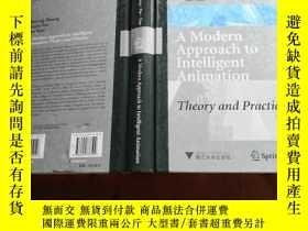 二手書博民逛書店A罕見Modern Approach to Intelligent Animation: Theory and P