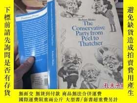 二手書博民逛書店the罕見conservative party from pee