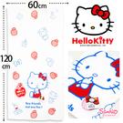 【衣襪酷】日本SANRIO HelloKitty紗蘿浴巾 Kitty格紋紅衣 凱蒂貓 澡巾 紗布浴巾 海灘巾 三麗鷗