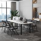 折疊椅子便攜家用簡易宿舍凳子靠背省空間會議辦公電腦椅簡約餐椅 雙十一特價