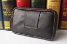 優卡尼手機包腰包男穿皮帶4.5 5.0 5.5寸皮質超薄橫休閒證件包包 店慶降價