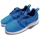 【五折特賣】Nike 休閒慢跑鞋 Roshe One Flight Weight GS 藍 白 女鞋 大童鞋【PUMP306】 705485-406