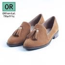 【ORiental TRaffic】經典俏皮流蘇樂福鞋-俏皮駝