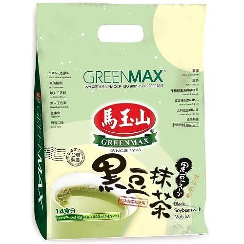 馬玉山黑豆抹茶30G x14入【愛買】