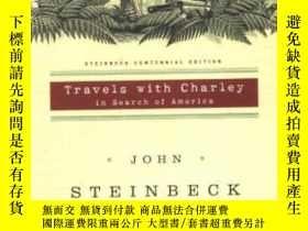 二手書博民逛書店Travels罕見With Charley In Search Of America-和查理一起去尋找美國Y4