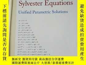 二手書博民逛書店generalized罕見sylvester equations