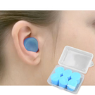 【小盒6枚入】軟矽膠游泳耳塞 運動耳塞 靜音耳塞 睡眠耳塞 YYESC01