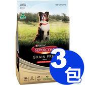 【寵物王國】斯博康-天然無穀成犬雞肉配方(小顆粒)2.5kg x3包組