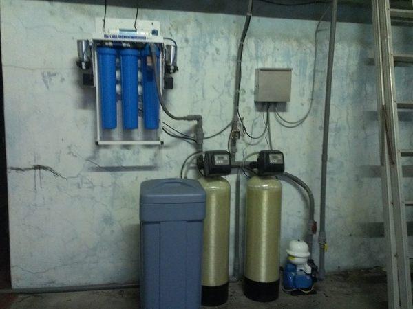 軟水機全自動分離式流量型軟水機
