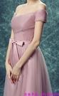 (45 Design) 訂製款 7天到貨禮法國蕾絲修身一字公主新娘婚紗禮服齊地蓬蓬顯瘦8
