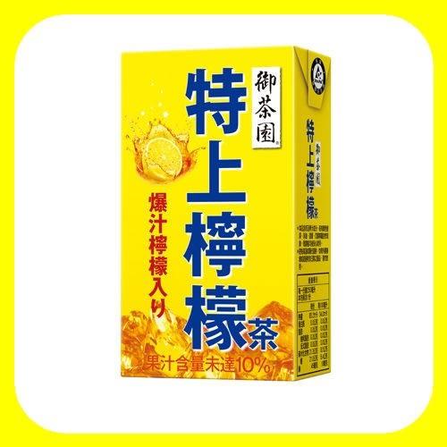 御茶園特上檸檬茶TP250ml*6 【合迷雅好物超級商城】