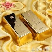 開光合金仿真金條金磚鍍金色金條中國黃金樣品擺件送禮招財 名購居家