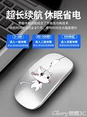 無線滑鼠 無線藍芽滑鼠可充電式靜音女生可愛macbook適用蘋果ipad平板微軟 榮耀